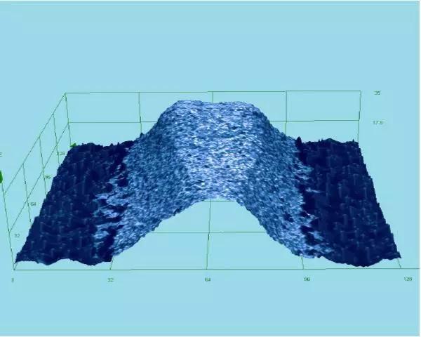 栅线3D图