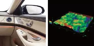 激光共焦显微镜在汽车行业应用案例图
