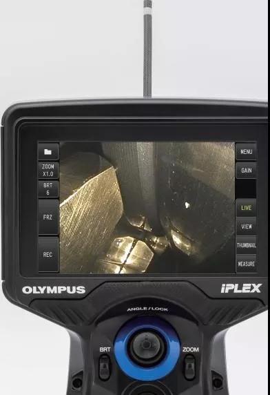 IPLEX G Lite工业内窥镜可以提供更清晰的成像画面