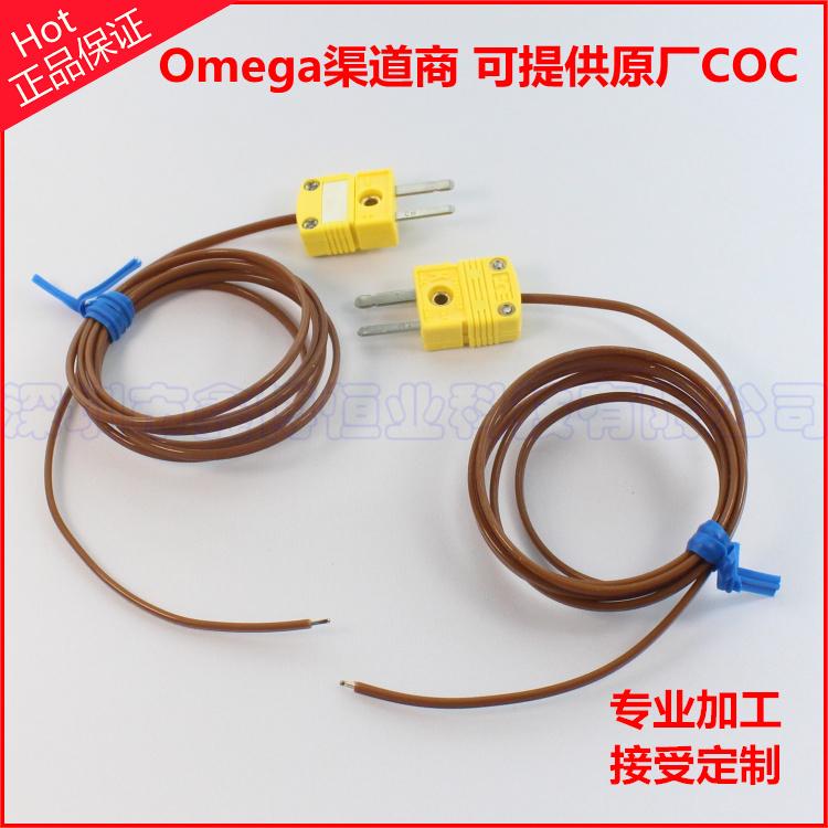 TT-K-24-SLE感温线+测温端焊点+SMPW-K-M热电偶公插头