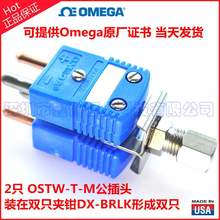 OSTW-T-M热电偶插头+DX-BRLK双只铠装热电偶组件