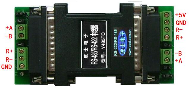波仕rs-485/rs-422 转换中继器y485tc