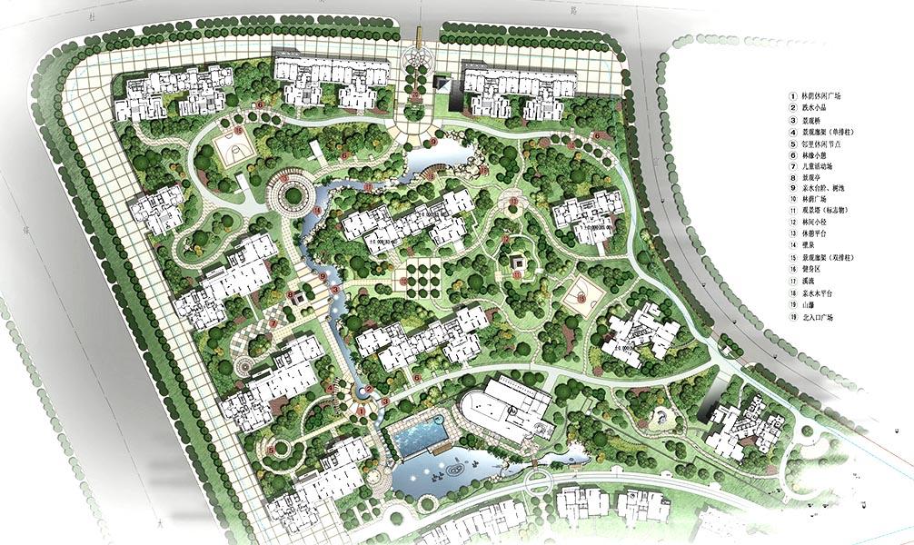 产品目录 住宅景观 建材展览网 展馆展区 住宅园林景观设计—长沙宜居