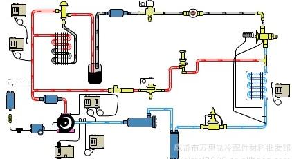 空调电路现场接线图解