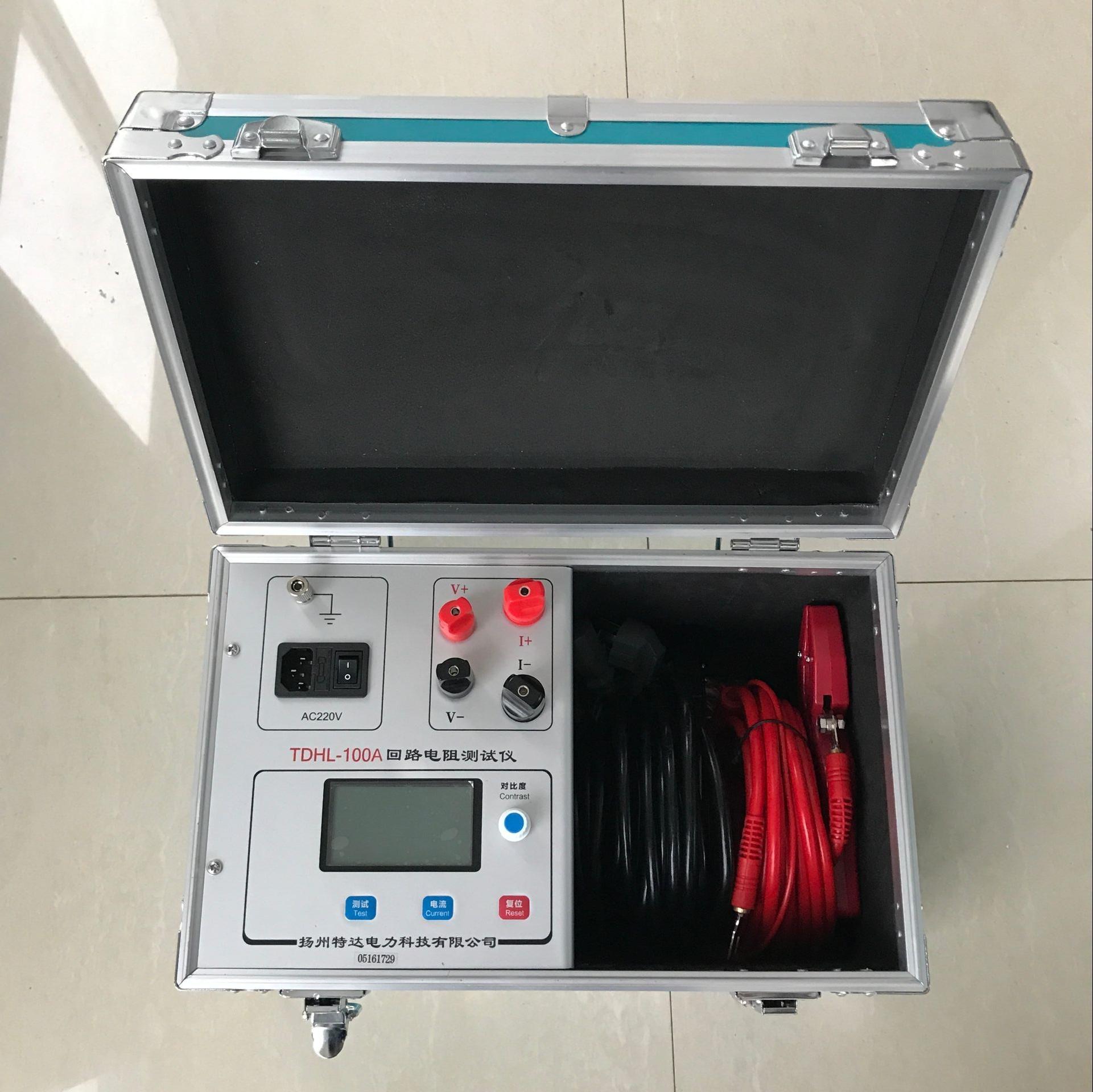 接触电阻测试仪的操作方式是什么?