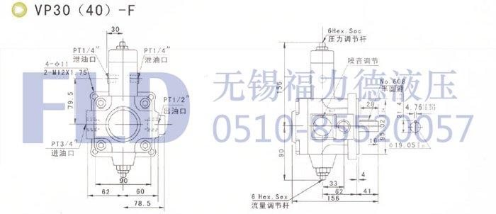 VA1 15F A2,变量叶片泵