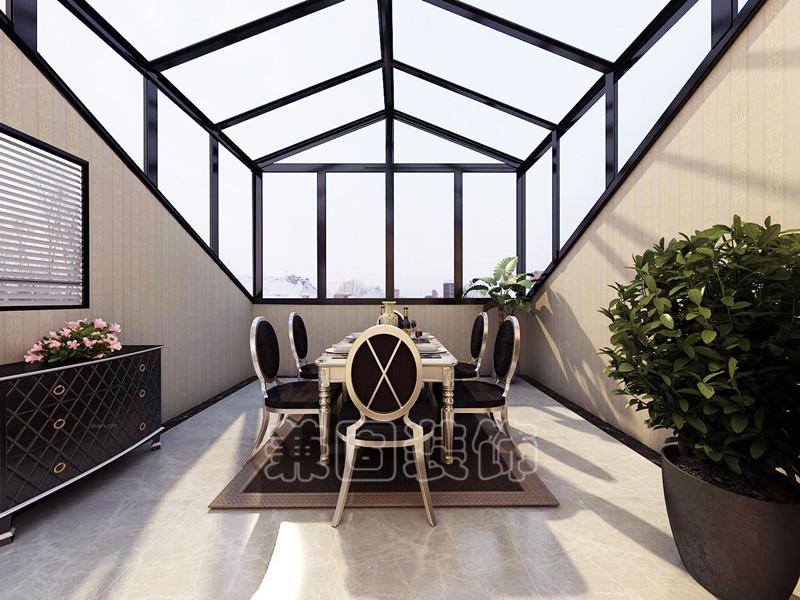 阳光房的系统主要有:斜屋顶天窗系统