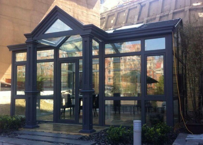 主体室外欧式风格 罗马柱效果图 室外