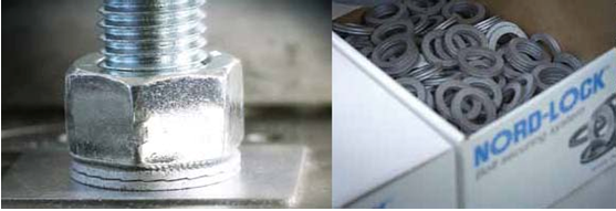 韦德科技销售代理洛帝牢NORD-LOCK双叠自锁 不锈钢 碳钢防松垫圈
