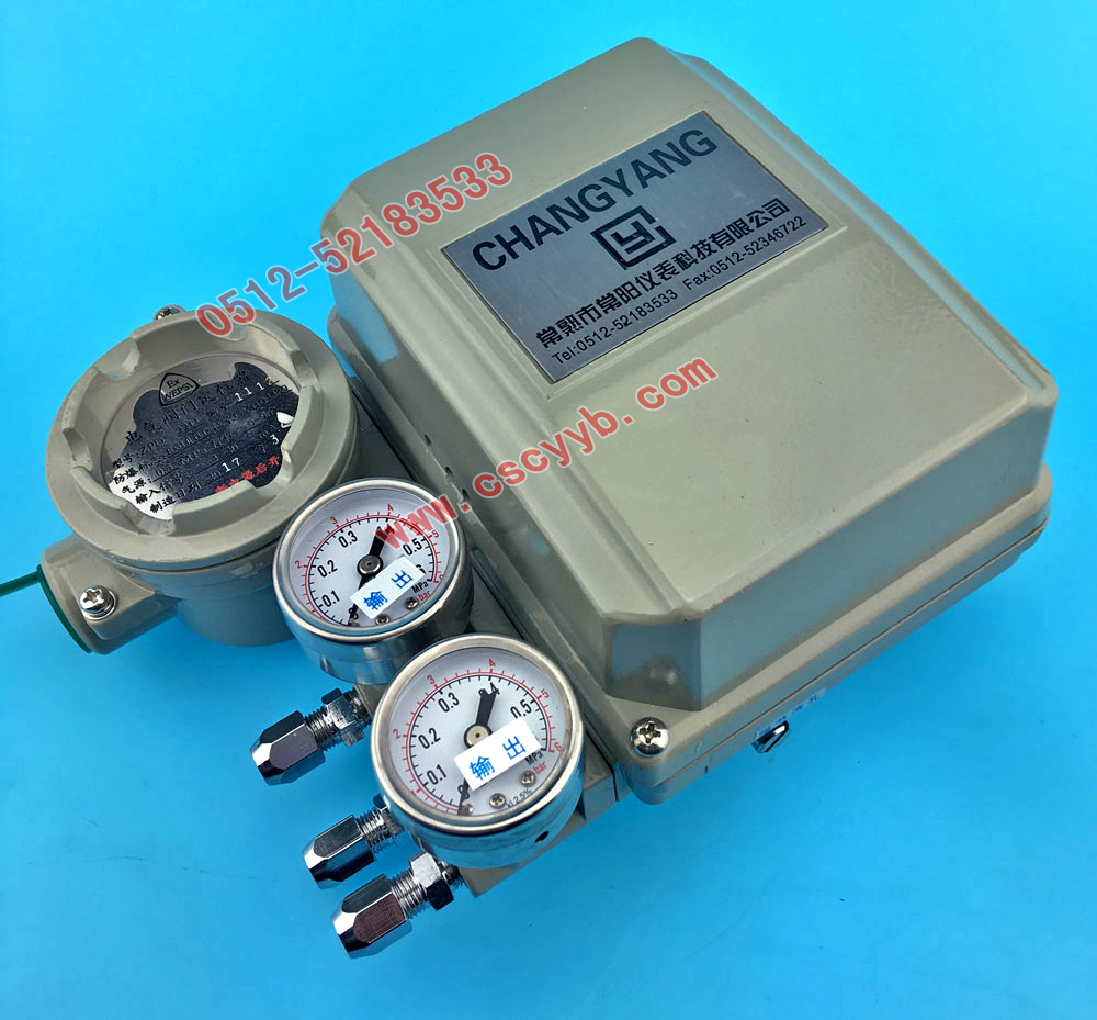 ZPD-2000电气阀门定位器.常阳ZPD阀门定位器