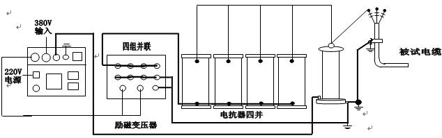 试验接线图: 110kv主变,gis试验接线 十二,设备保存和维护 1,存放