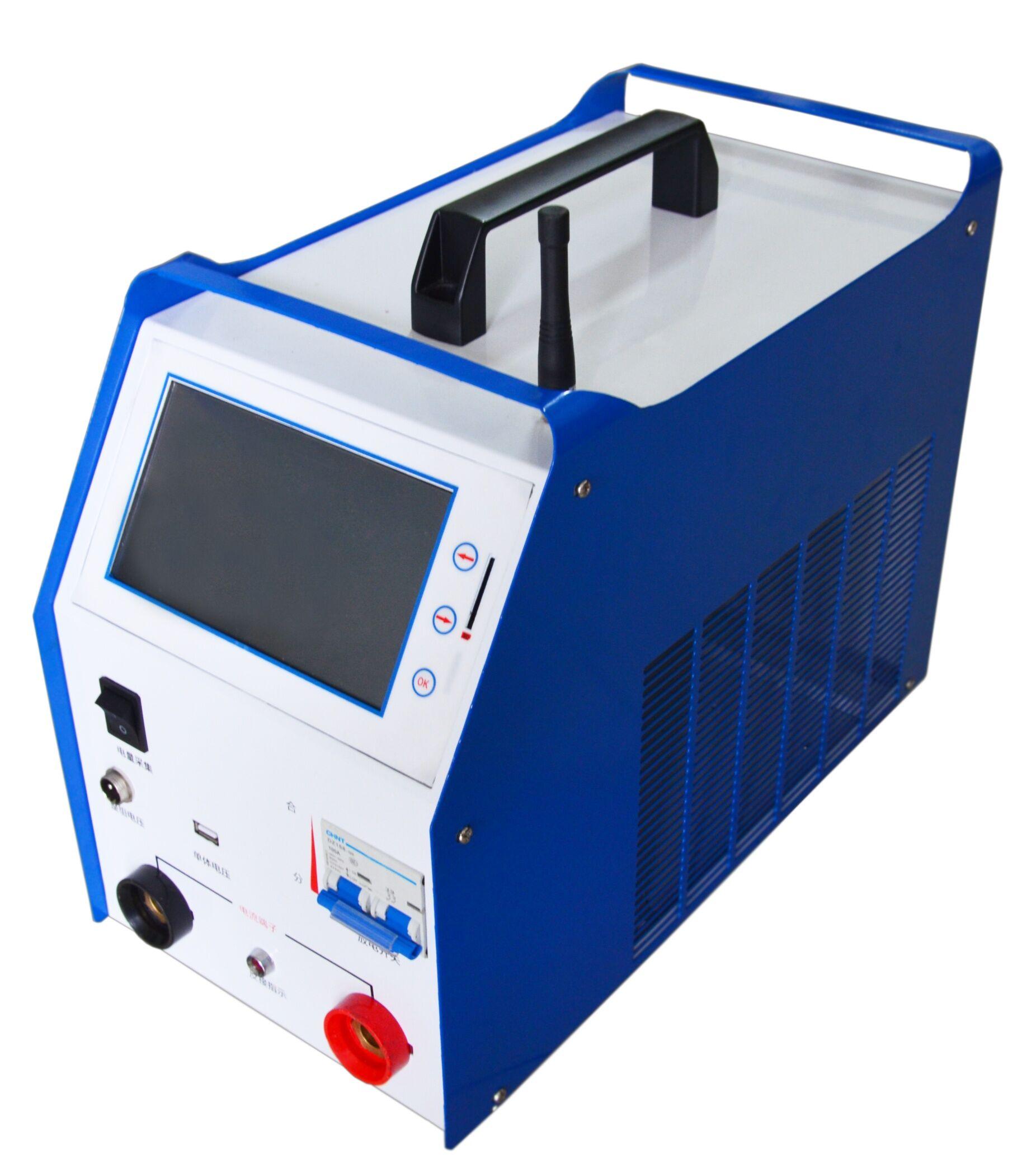 单体电池电压为1.2v-12v的铅酸蓄电池组进行测试的专用仪器.