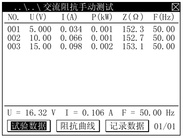 1交流阻抗试验接线图正确接线.