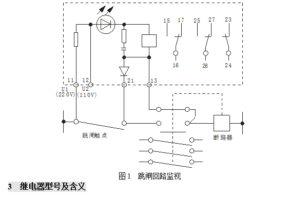 有电流通过发光二极管