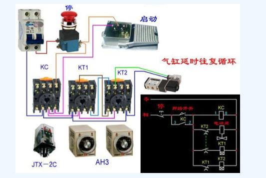 中间继电器接线方法 中间继电器作用和工作原理