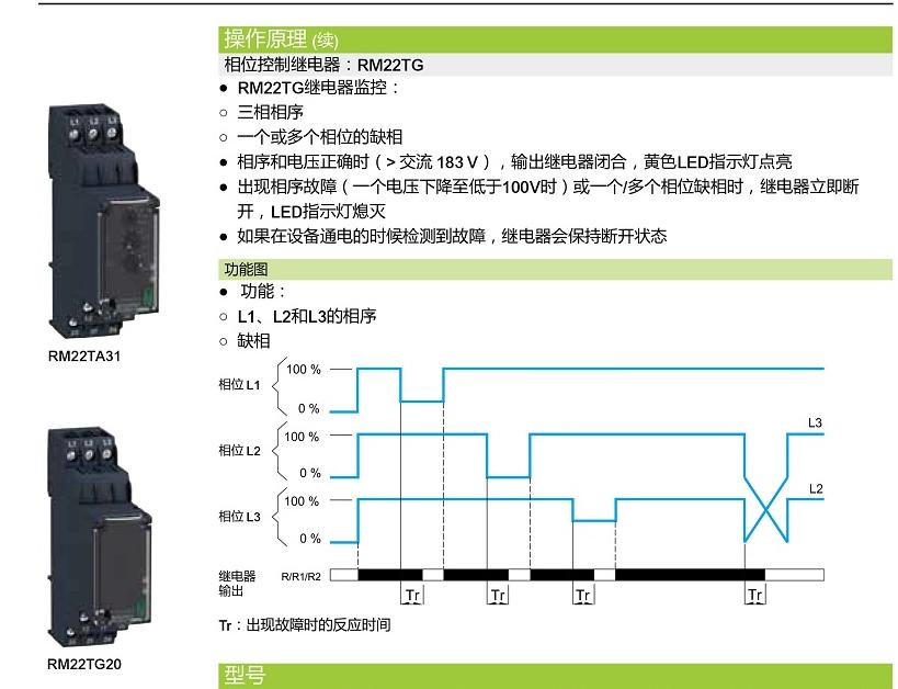 rm22tg20相序继电器