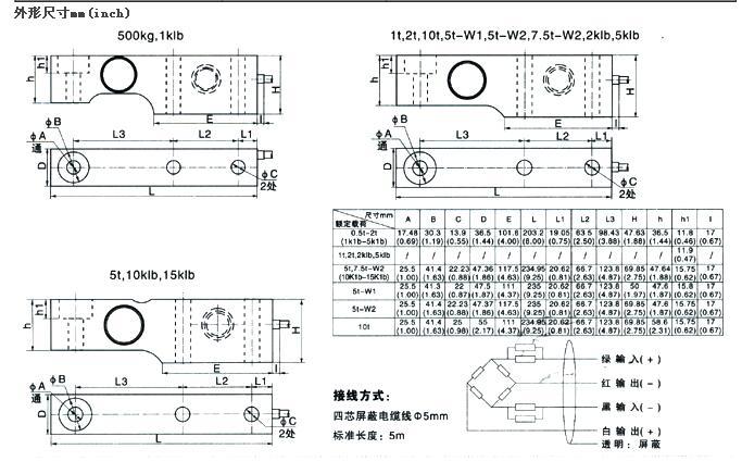 BM8G-C3-0.5t-5B,BM8G-C4-1t-5B,BM8G-C4-10t-5B,BM8G-C3-15k-5B,BM8G,称重传感器 不锈钢材料,单剪梁结构,焊接密封,压向承载。 防护等级IP68 适用于地磅、汽检线、料斗秤及各类电子称重设备。 推荐选择型号:
