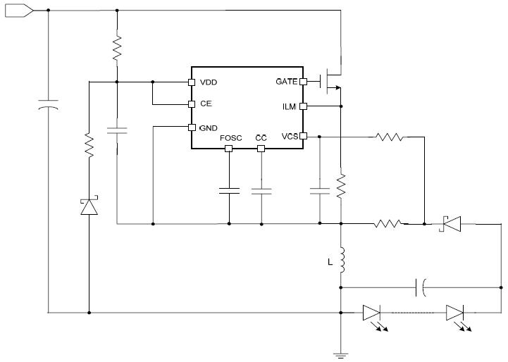 产品目录 led驱动电路 >>>  dc-dc升降压led驱动  5v~100v 升压 降压