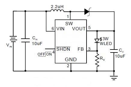 led升压驱动电路