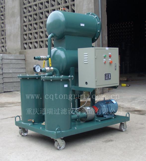 汽轮机润滑油聚结分离滤油机