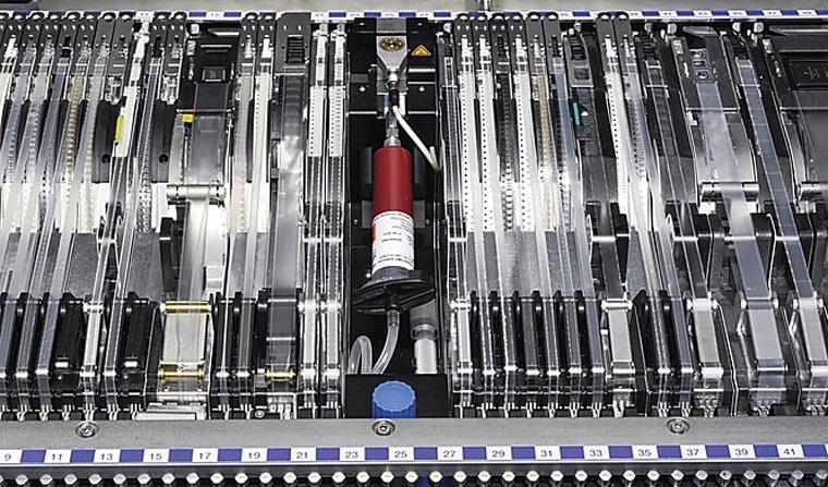 ASM-SIPLACE-GlueFeederSIPLACE Glue Feeder 灵活的点胶模式 SIPLACE Glue Feeder引发了胶粘剂应用的革命性变革,同时也实现了灵活性,易于提升为供料器