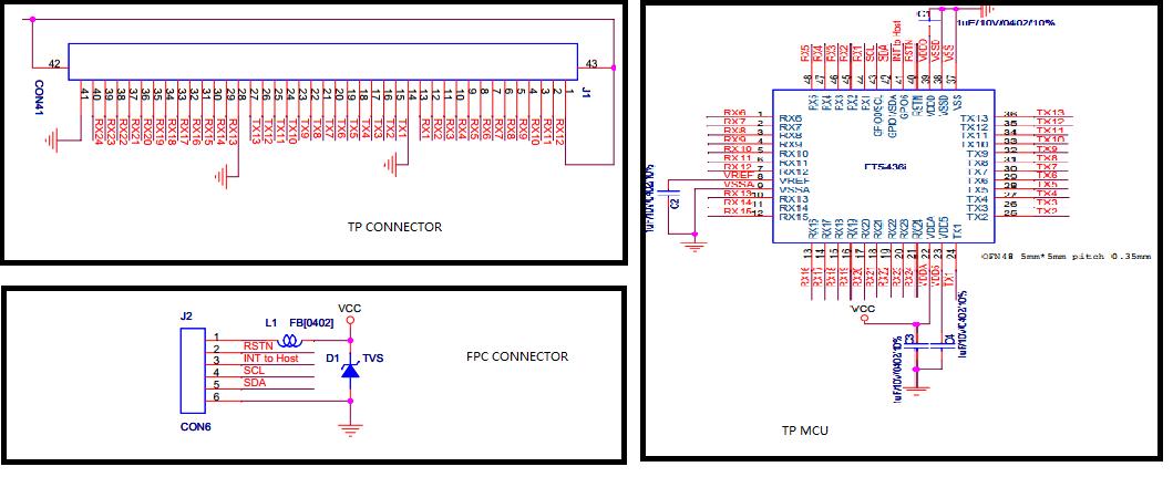 电容屏测试原理图