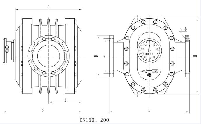 橢圓齒輪流量計