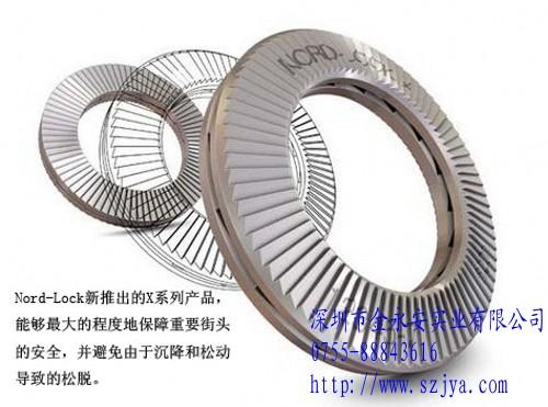 不锈钢与碳钢材料制造的紧固件—NORD-LOCK防松垫圈