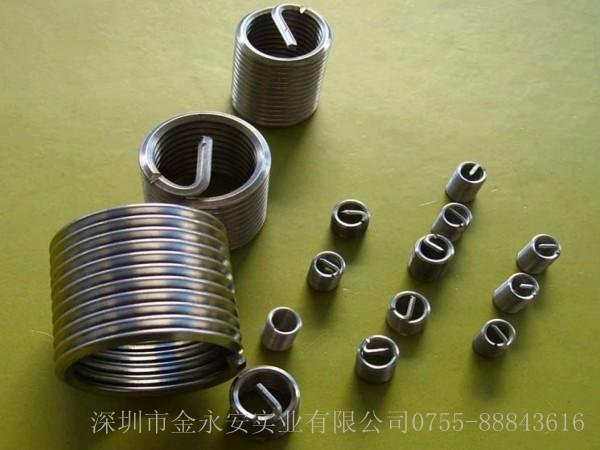 钢丝螺套可以提高零件螺纹连接的疲劳强度