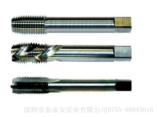 螺套丝锥根据形状和形成螺纹的方式分为直槽丝锥、螺旋槽丝锥、挤压丝锥