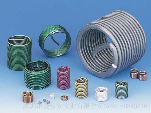 铝合金材料安装钢丝螺套可以防止螺丝孔被磨损