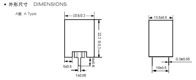 正温度系数热敏电阻(ptc)