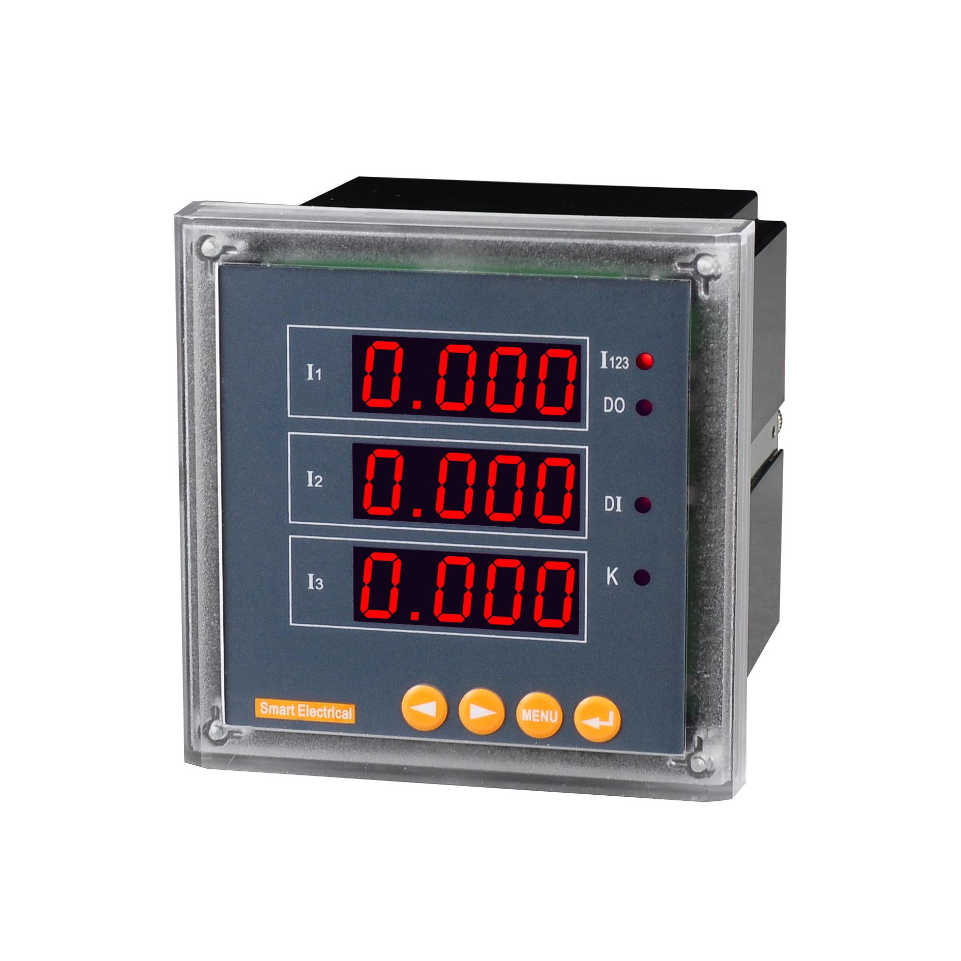 智能型三相电流表