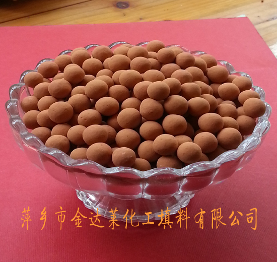 黄土球滤料 萍乡金达莱化工填料