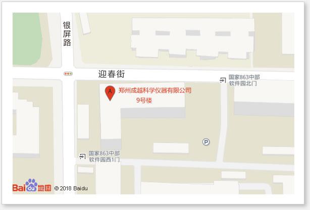 郑州成越科学仪器有限公司地图地址