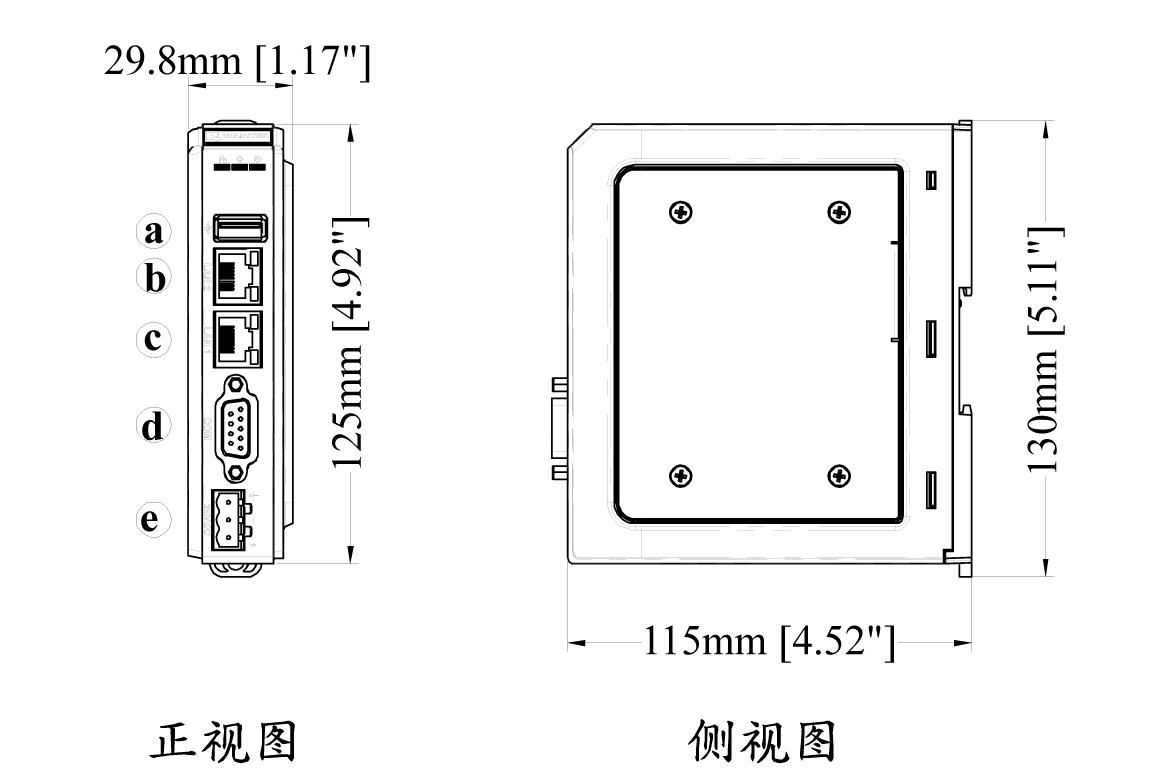 广西威纶触摸屏cMT-HDMI 中电自动化