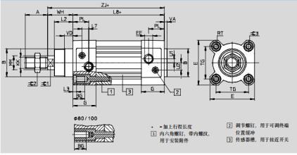 festo气缸工作原理,德国festo费斯托双作用气缸