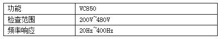 晟皋VC850相序计