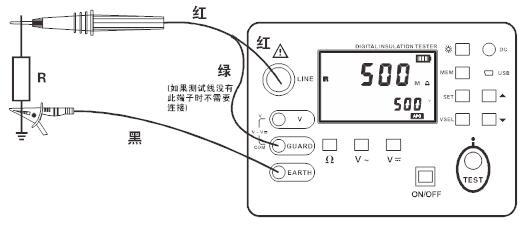 SHSG-5KV绝缘电阻测试仪的使用方法