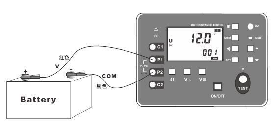 晟皋SG3050等电位测试仪的使用方法