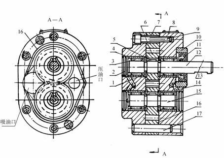 供应hawe液压泵  手动液压泵的动态工作图