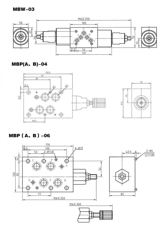 mbb-06-b溢流阀 |上海爱儿康工业器材有限公司 叠加式图片