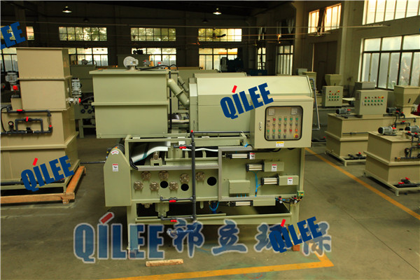 QTAH-1000生活污水/污水处理设备带式污泥脱水机