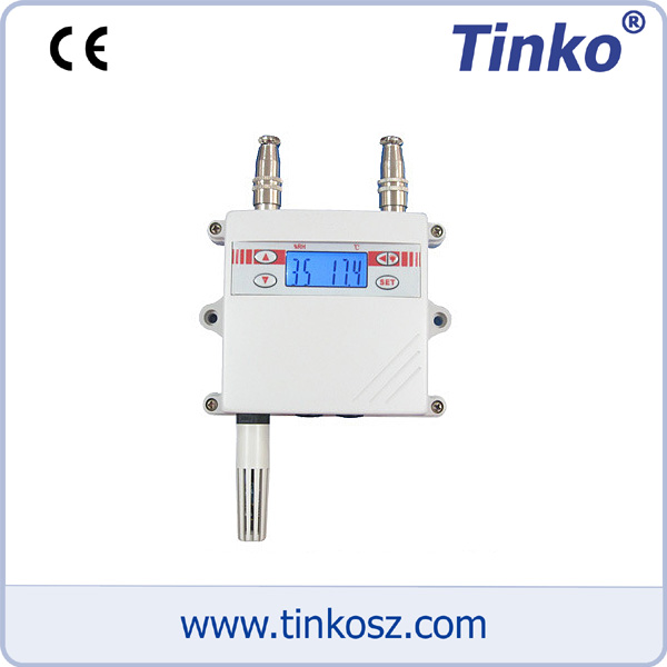 苏州天和仪器 温湿度变送器 TKSE LCD壁挂式温湿度变送器