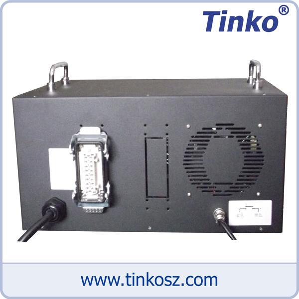 蘇州天和儀器 6點熱流道時序控制箱背視圖