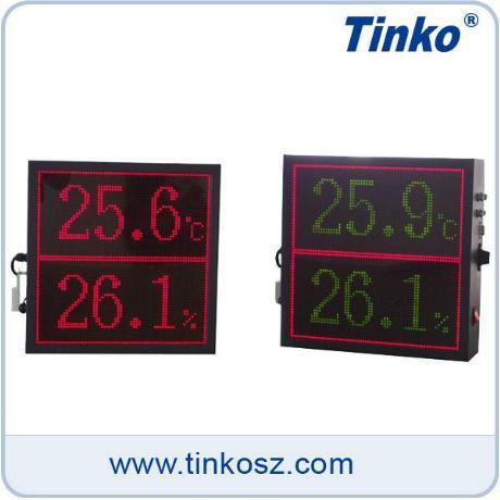 苏州天和 温湿度大屏智能测控仪
