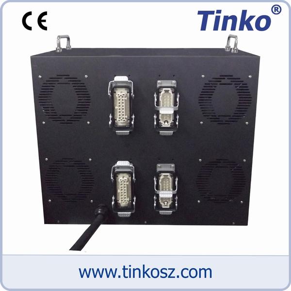 蘇州天和儀器Tinko雙層16點熱流道溫控箱背視圖