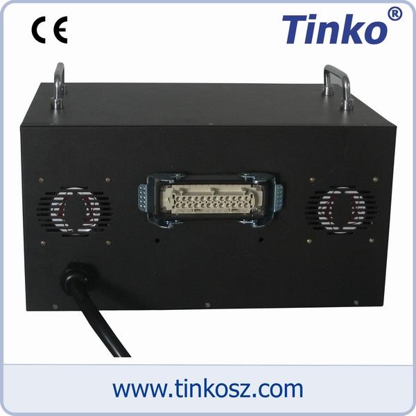 苏州天和仪器 中性5点热流道温控器背视图
