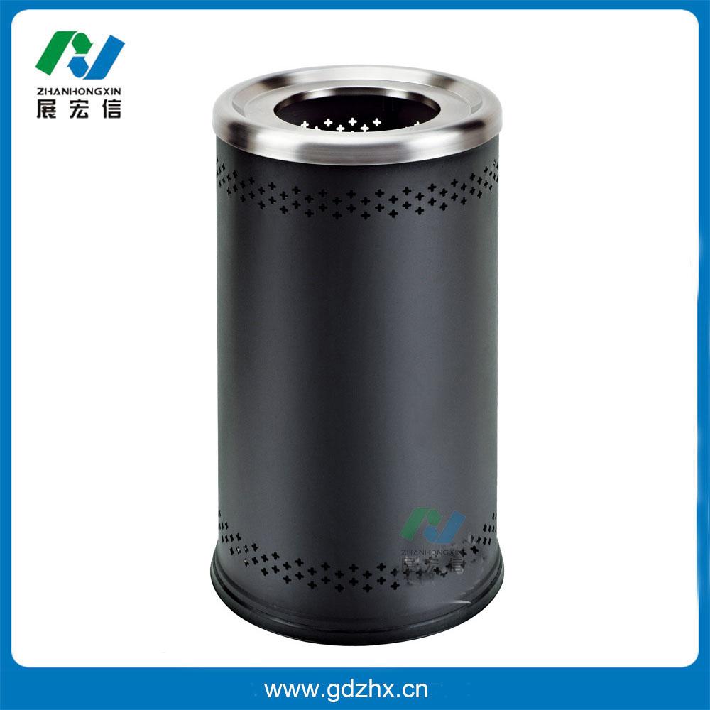 港式垃圾桶(黑色,gpx-110m)