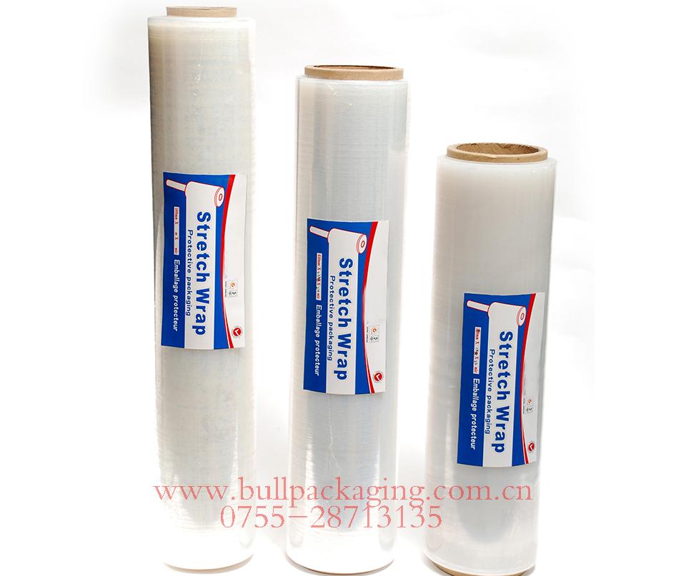 High Quality 23 micron pallet stretch film 450*500m